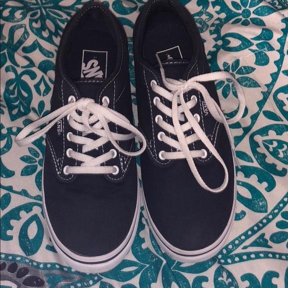 Vans Shoes   Navy Blue Womens Size 6